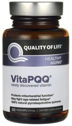 Quality of Life Labs VitaPQQ 20 mg 30 Vcaps