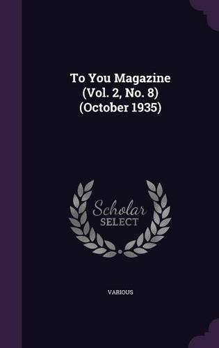 To You Magazine (Vol. 2, No. 8) (October 1935)