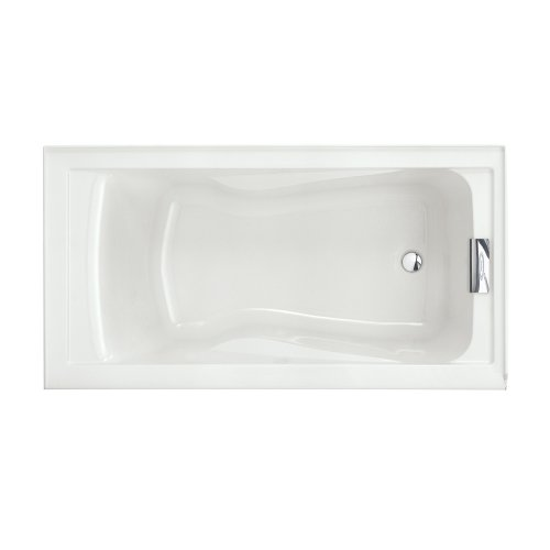 American Standard 2422V002.020 Evolution Bathtub with Dual Molded-In Arm Rests, Undermount Option, White (Soaking Bath Tub compare prices)