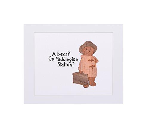 Paddington Bear wooden art - A bear? On Paddington Station?