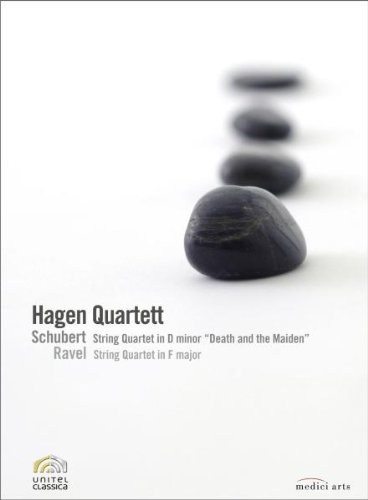 Hagen Quartett: Schubert String Quartet in D Minor/Ravel String Quartet in F Major (REGION 0) (NTSC) [DVD] [2008]