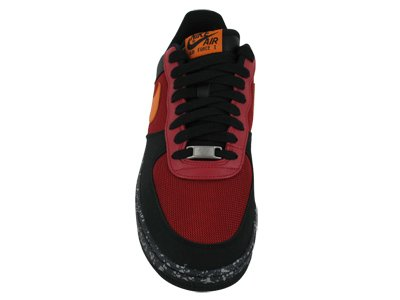 Nike Nike Men's NIKE AIR FORCE 1 PREMIUM '07 BASKETBALL SHOES 11.5 (VARSITY RED/MANDARIN/BLACK/ANTHRACITE)