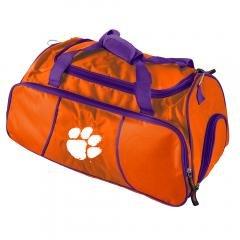 Buy Clemson Tigers NCAA Gym Duffel Duffle Bag Sports Fan Gear Luggage by NCAA
