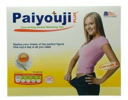 Paiyouji Plus Fast Acting Herbal Slimmimg Tea (18 sachets)