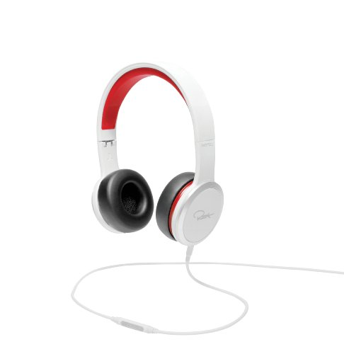 WeSC RZA Street Headphone - White/Red