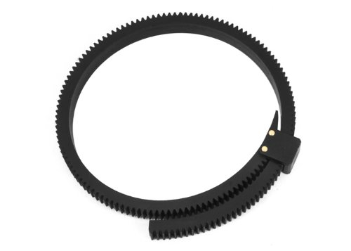 Fotga DP500II Flexible Gear Belt Ring for Follow Focus FF 46mm to 110mm (Black) (Follow Focus Ring compare prices)