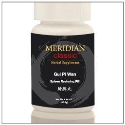 Meridian Classic Premium Brand Teapills - Gui Pi Wan / Gui Pi Tang, Spleen Restoring Pill