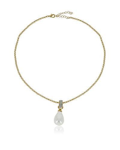 Chicstyle Collar «Madeleine» Blanco / Dorado