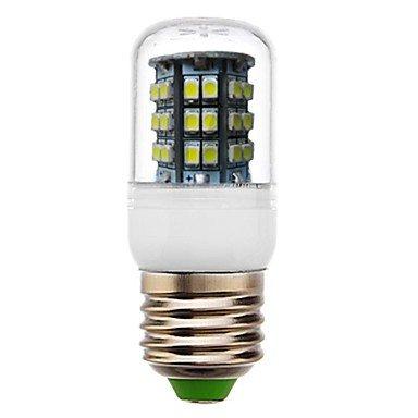 Rayshop - E27 3W 48X3528Smd180Lm 6000-6500K Cool White Light Led Corn Bulb (Ac 220-240V)