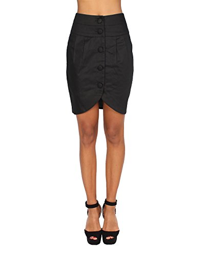 PEPE JEANS - Gonna da Donna MONIKA - nero, S