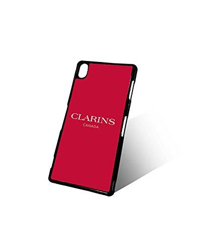 Cute Sony Xperia Z3 Custodia Case Brand Clarins Logo Modello Slim Style Protect Your Phone(Xperia Z3), Clarins Paris Cellulari Anti scivolo Design