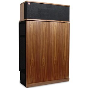 Klipsch Klipschorn Three-Way Speaker System with Klipsch's Legendary Folded Horn Driver (Walnut, Single Speaker)