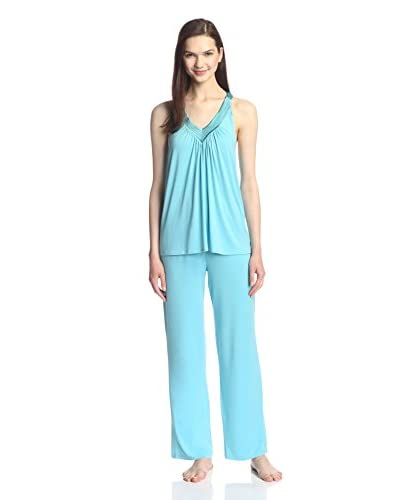 Midnight by Carole Hochman Women's Springtime Impressions Pajama Set