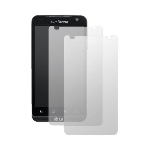 Premium Lcd Screen Protector Cover Kit (2 Pack) For Lg Revolution Vs910