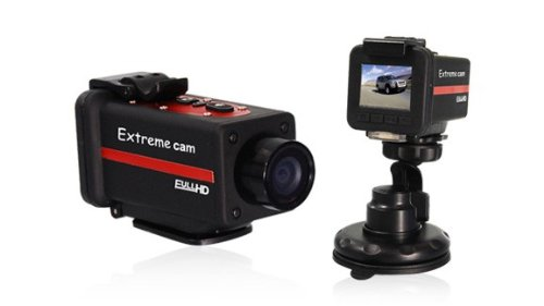Full HD Sportskamera / Helm Kamera / Action Kamera Sport / Motorrad Bike Fahrrad Kamera / Wasserdicht