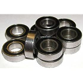 10 Bearing R6-2RS 3/8 x 7/8 x 9/32 Sealed Inch