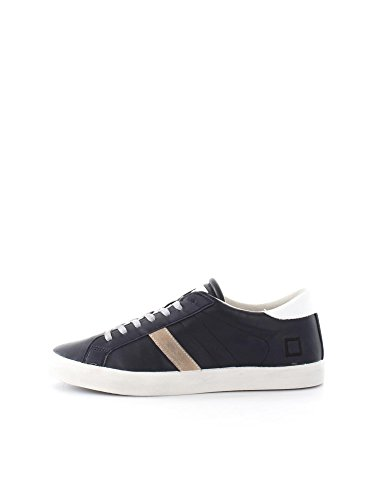 D.A.T.E. HIKK LOW NAPPA A241 BLUE SNEAKERS Uomo BLUE 45