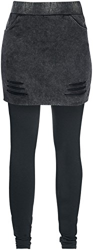 Full Volume by EMP Skirt-Leggings Leggings nero S