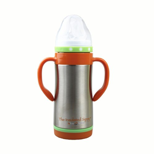 Eco Vessel The Insulated Sippy 10 Oz Slvr TIS295SE