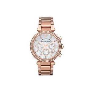 Michael Kors Parker Rose Gold Watch MK5491