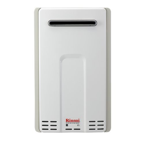 Rinnai Rv75Elp Outdoor Liquid Propane 7.5 Gpm Tankless Water Heater From The Val, Liquid Propane