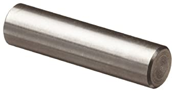 303 Stainless Steel Dowel Pin, Plain Finish, Inch
