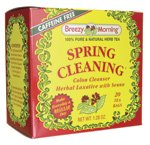 Breezy Morning Herb Tea Spring Cleaning -- 20 Tea Bags