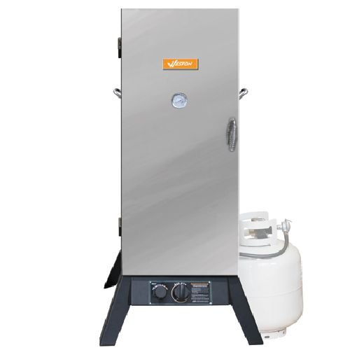 Prago 36-Inch Outdoor Propane Vertical Smoker