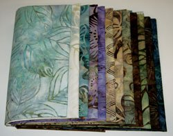 Robert Kaufman Artisan Batiks Coventry Fat Quarters 12 Pieces
