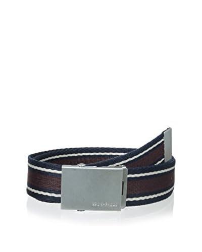 Ben Sherman Men's Striped Webbing Belt