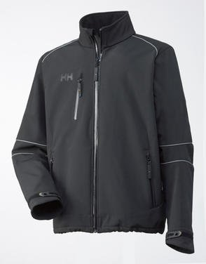 Helly Hansen Barcelona Soft Shell Jacket - Black (Large)