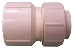 "Genova Products 543101 1"" X 3/4"" Universal Water Softener Fitting"