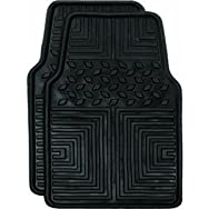 Custom Accessories78611All Season Floor Mat-2PC BLK WEATHER FLR MATS