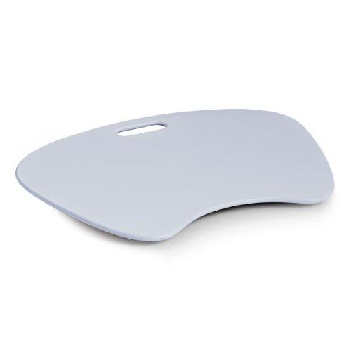 13001 Laptop-Schoßtablett, MDF, 59 x 40 x 6 cm, weiß