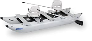 Sea Eagle 12 Ft FoldCat Inflatable Catamaran Incl Swivel Seats Pump by Sea Eagle