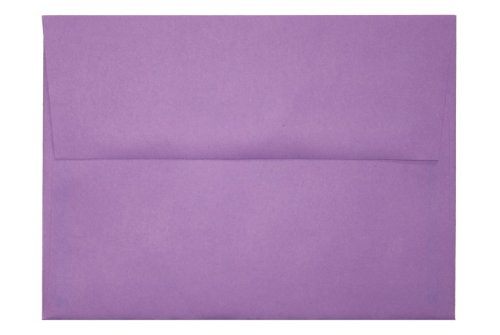 A6 Envelopes (4 3/4 x 6 1/2) - Bright Violet (50 Qty.)