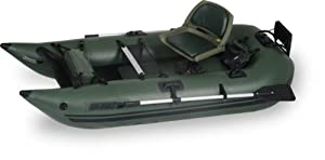 Sea Eagle 285 Pro Green Inflatable 9ft Pontoon Boat by Sea Eagle