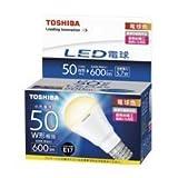 東芝(TOSHIBA)  LED電球 ミニクリプトン電球形 600lm(電球色相当)TOSHIBA E-CORE(イー・コア)  LDA6L-HE17/S50W/2 LDA6L-HE17/S50W/2