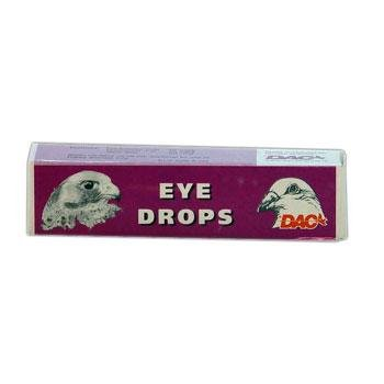 Dac Eye Drops 10 ml. For treatment of eye-and ear infections in pigeons. For Pigeons, Birds & Poultry