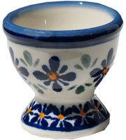 Polish Pottery Egg Cup