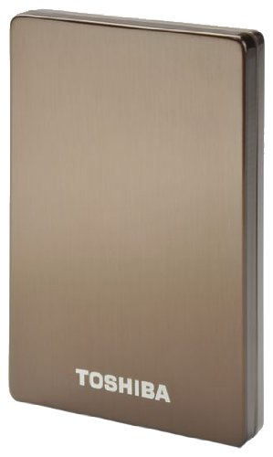 Toshiba StorE Alu2 - Hard drive - 320 GB - external - 2.5