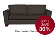 Urbino Large Sofa - Leather