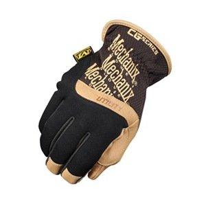 Mechanics Gloves, XL, Black/Brown, PR