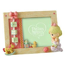 Precious Moments Jesus Loves Me Girl Praying 4 X 6 Photo Frame front-1056808