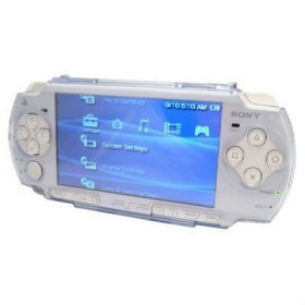 PSP 2000 Slim Crystal Clear Hard Case