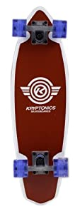 Buy Kryptonics Mini Wings Cruiser Complete Skateboard, Red, 26 x 7-Inch by Kryptonics