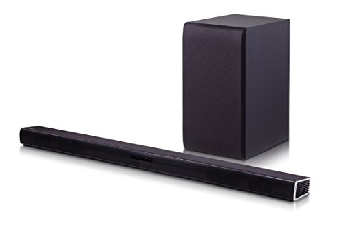 LG Electronics SH4 2.1 Channel 300W Sound Bar with Wireless Subwoofer (2016 Model)