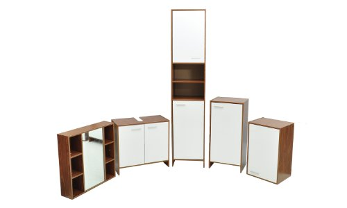 5 Piece Bathroom Cabinet Furniture Set