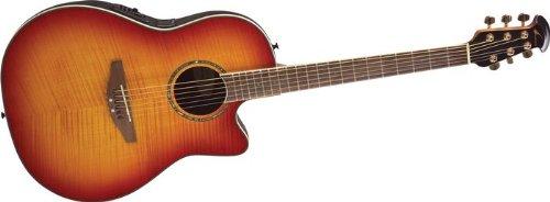 best buy ovation celebrity cc28 acoustic electric guitar honey burst flame on sale guitars. Black Bedroom Furniture Sets. Home Design Ideas