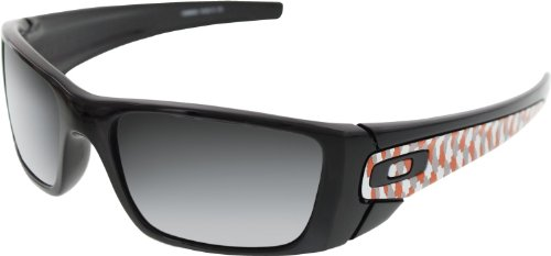 Oakley Chip Foose Fuel Cell Sunglasses Polished Black w/Black Iridium, One Size